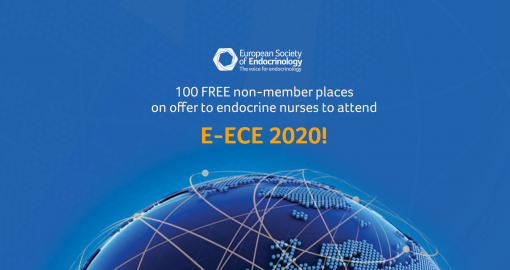 100 FREE non-member places on offer to endocrine nurses to attend  e-ECE 2020!